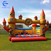 Good quality inflatable jungle combo PVC inflatable castle bouncer with slide for sale