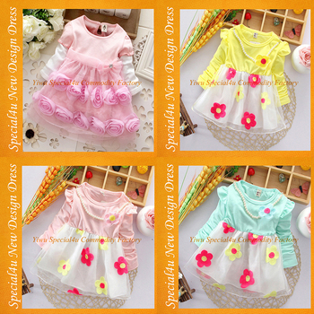 Spring Cheap Baby Dress Kids Clothing Latest Design Baby Frock ...