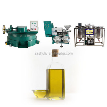 Big capacity olive oil line production refining machine oil mill machine in kenya