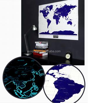 Paper world starlight map glowing in dark night buy magnetic paper world starlight map glowing in dark night gumiabroncs Gallery