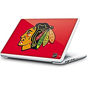 NHL Chicago Blackhawks MacBook 13-inch Skin - Chicago Blackhawks Solid Background Vinyl Decal Skin For Your MacBook 13-inch