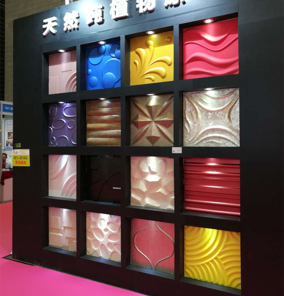eco friendly wall decoration 3d board