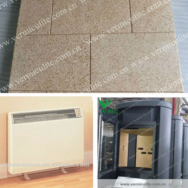 Non asbestos fireproof insulation vermiculite bricks for for Fireproof wall insulation