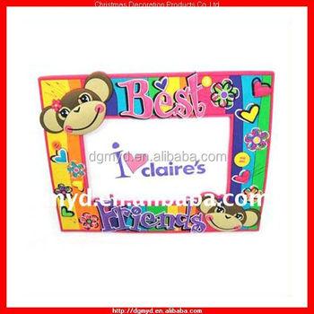 Happy Monkey Pvc Photo Frame For Best Friends ( Kms-1006) - Buy Pvc ...