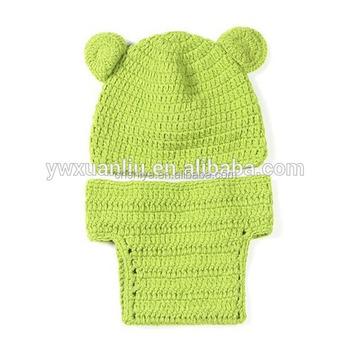 2015 Heißen Handgefertigte Neugeborenen Mädchenjunge Gestrickt Hat