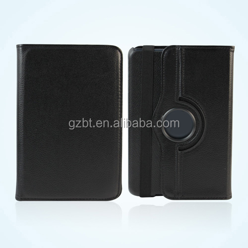Hybrid leather case for amazon kindle fire hd 7.0