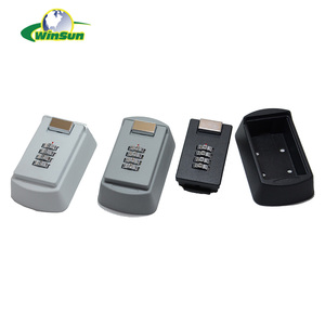 Durable combination key safe time lock box