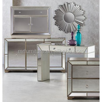 TOP MIRROR Fashion Hallway Mirrored Cabinet Mirrored Console Table Shoes  Cabinet Storage Cabinet For Wholesale