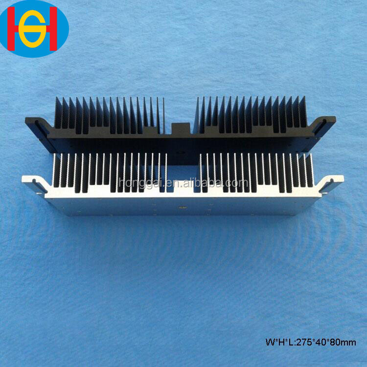 100% true capacity amplifier heat sink