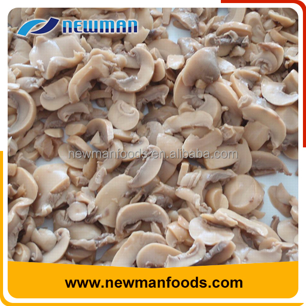 Hot selling top quality brine delicious canned mushroom sliced