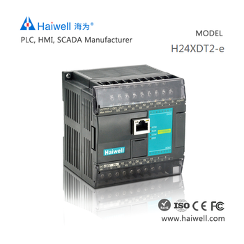 New design Haiwell H24XDT2-e PLC digital input module with Ethernet port for PID control