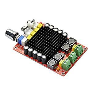 2100W TDA7498 DC 14-32V Class D Dual Channel Audio Amplifier Car Amplifier Board