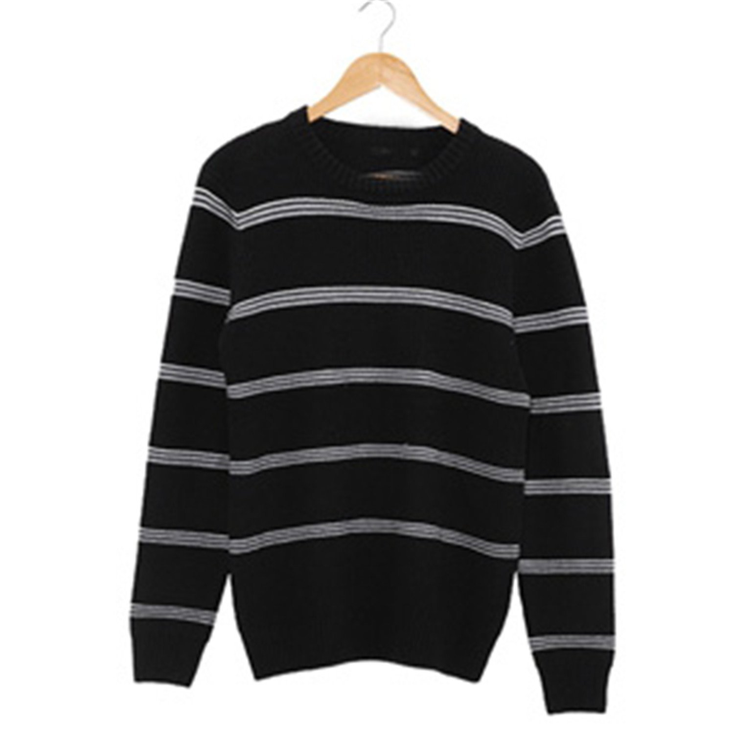 aca0fc3e715 Get Quotations · B dressy Handsome and Silm Men Sweaters Fashion Style  Patchwork Knitted Quality Pullover Men O-