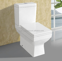 Bathroom products dual flushing ceramic toilet,Hotel Quality Bathroom Standard Toilet,s- trapToilets