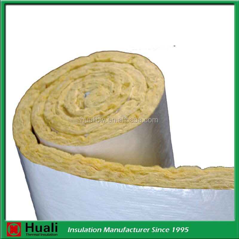 fire/water/sound proof aluminum foil mineral rock wool insulation