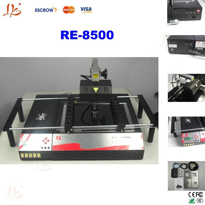 infrared bga chip repair machine RE-8500,cell phone reballing station,bga rework station for laptop motherboard