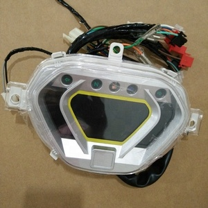 Factory Price Motorcycle Digital Crystal Speedometer for Aftermarket
