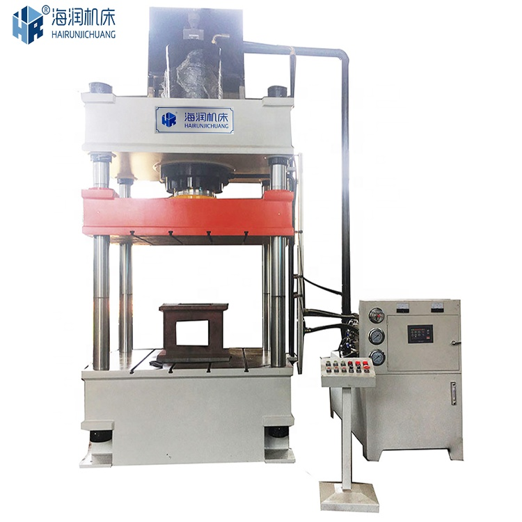 Hydraulic press 315 tons SMC glass steel forming machine spheroidal ink manhole cover forming