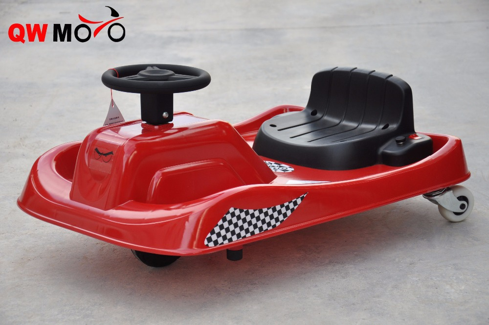 QWMOTO CE Red small Kids Ride on Baby Toy Kids Metal 100W electricTricycle for cheap sale