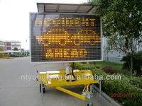 Truck Mounted Variable Message Signs For Traffic Control