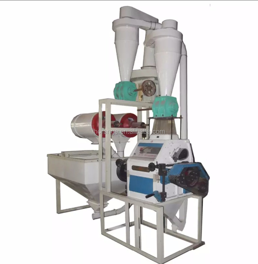 High efficient 500kg per hour flour mill machinery for rice wheat corn