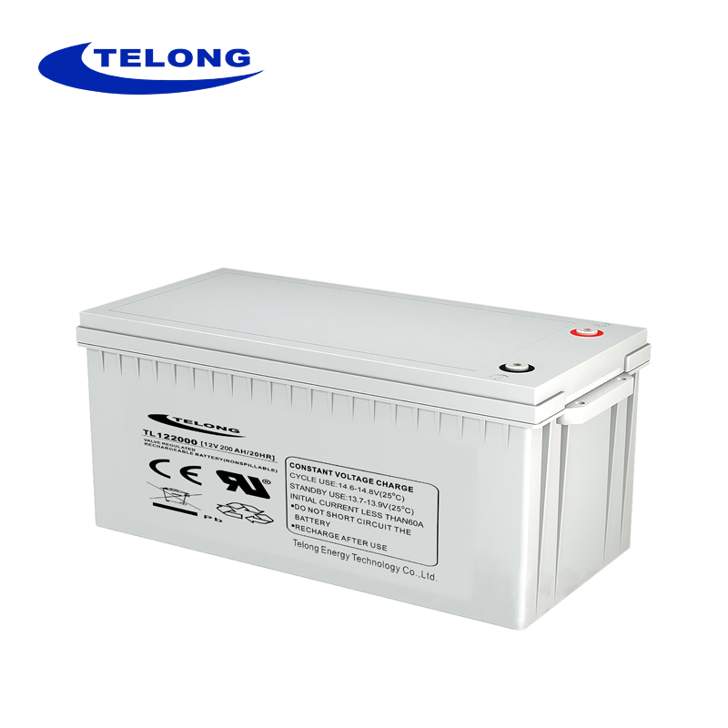 12V 200AH car battery/starting battery