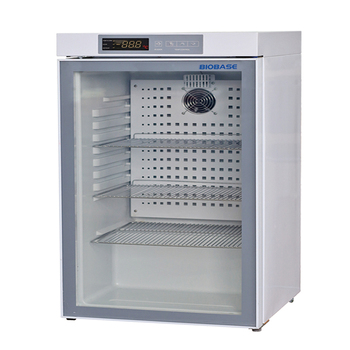 BIOBASE China Glass Door Small Medical Refrigerator With CE/ISO Certificate Small Medical Refrigerator BXC-V130M
