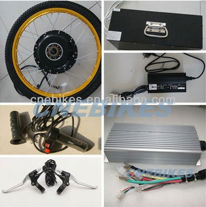 48V 15OOW electric front wheel bike conversion kit hub motor high quality super motor