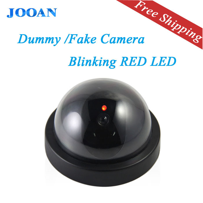 Free Shipping  JOOAN Outdoor Waterproof Surveillance Dummy Home Ir Led Fake