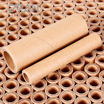 Industrial original cheap brown kraft paper core for printer 0.5inches * 110mm