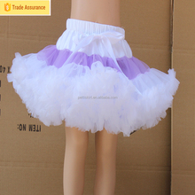 2015High Quality Baby Girls Chiffon Fluffy Pettiskirt Toddler Summer Dance Tutu With Lace Ruffle Bows Lovely Baby Pettiskirts