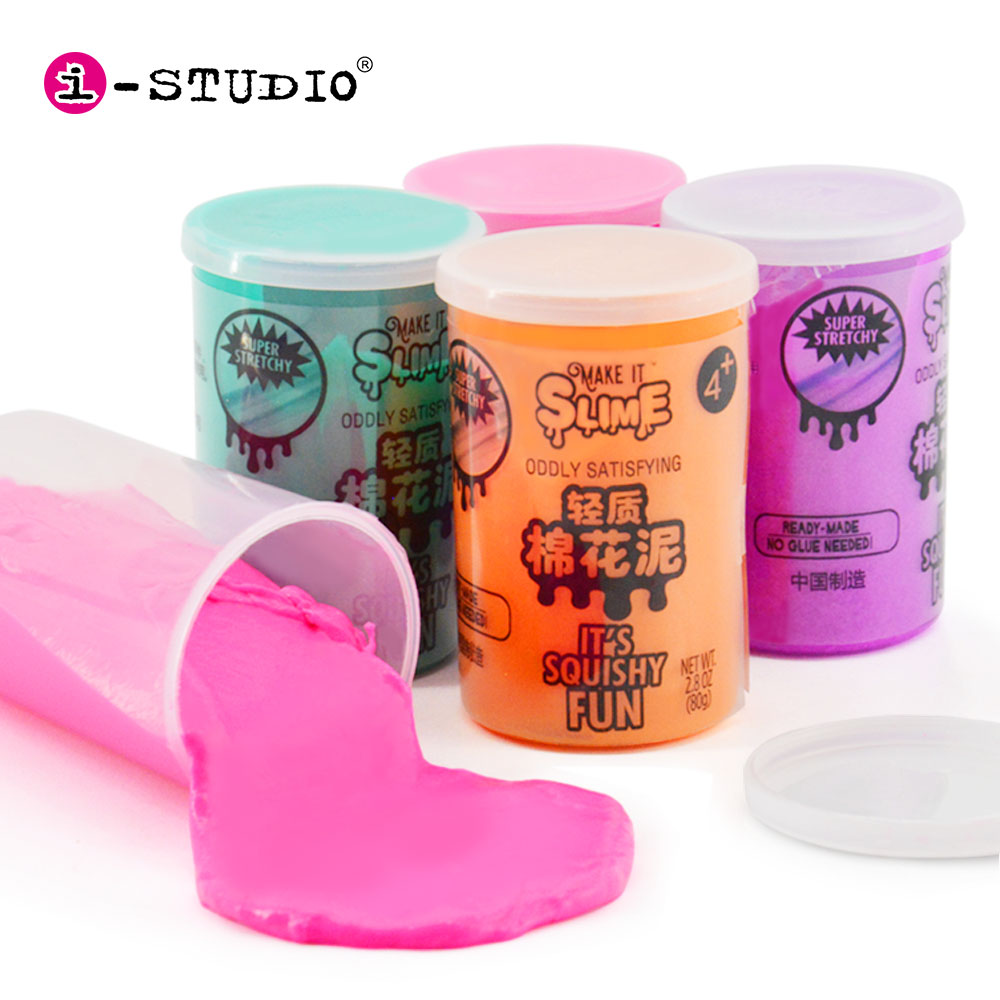 Amazon Hot Sell Compound Stress Relief Toy Super Soft Magic Bubble Clay Diy Slime Kit Buy Diy Slime Kit Bubble Slime Product On Alibaba Com