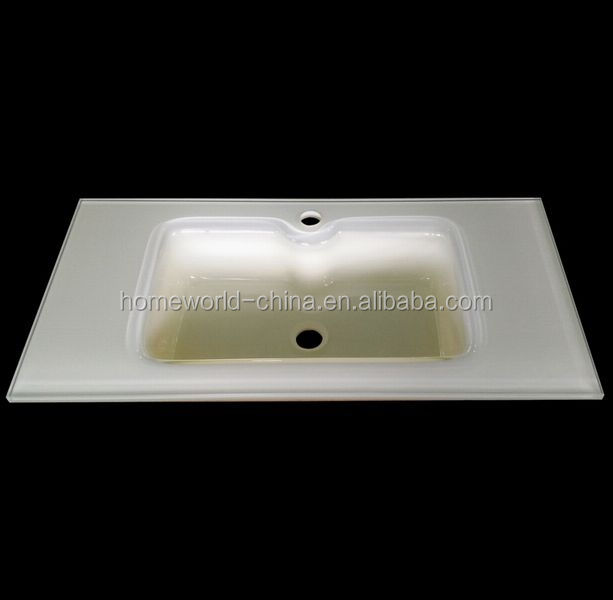 Hihg Quality Cheap Tempered Glass Bathroom Sink
