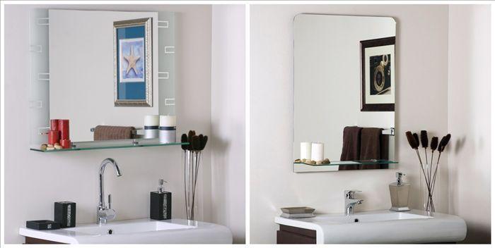 Wit toilet spiegel badkamer spiegel met plank buy badkamer