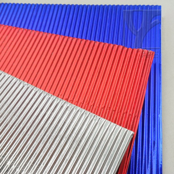 Pearl Color Corrugated Paper 200gsm A4 Color Corrugated Paper