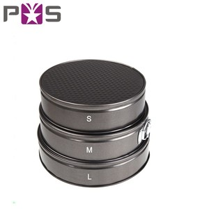 3 Pcs 3 Round shape non stick metal Round Cake Mould/Set/Pan