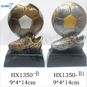 Metal/ Resin Football World Cup Trophy