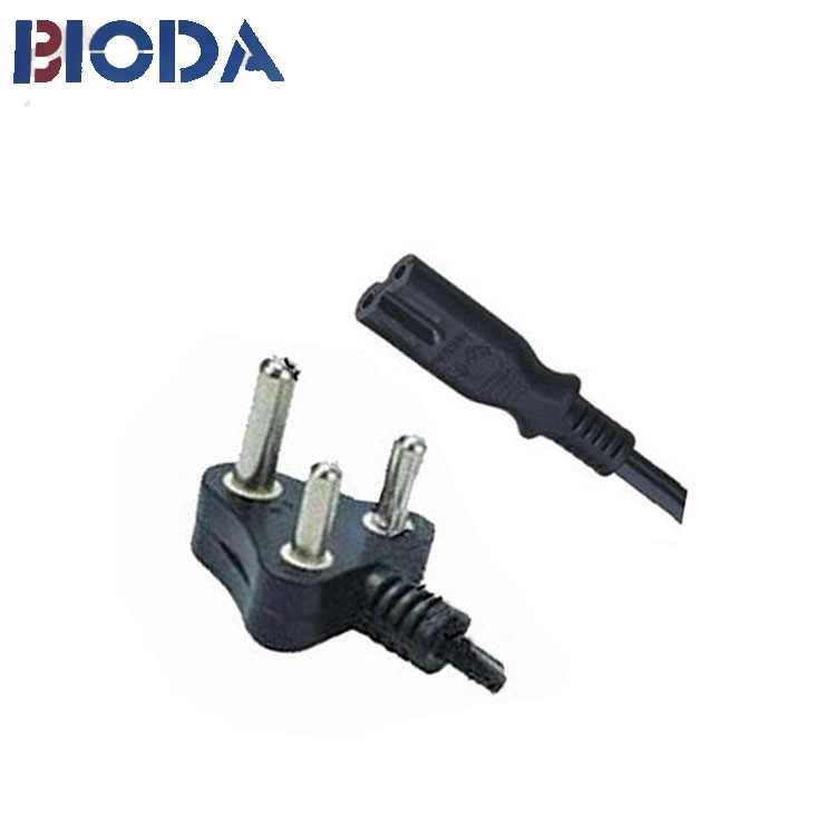 QIAOPU hot selling 16A 250V 25pcs/ctn us ac customized wire power cord