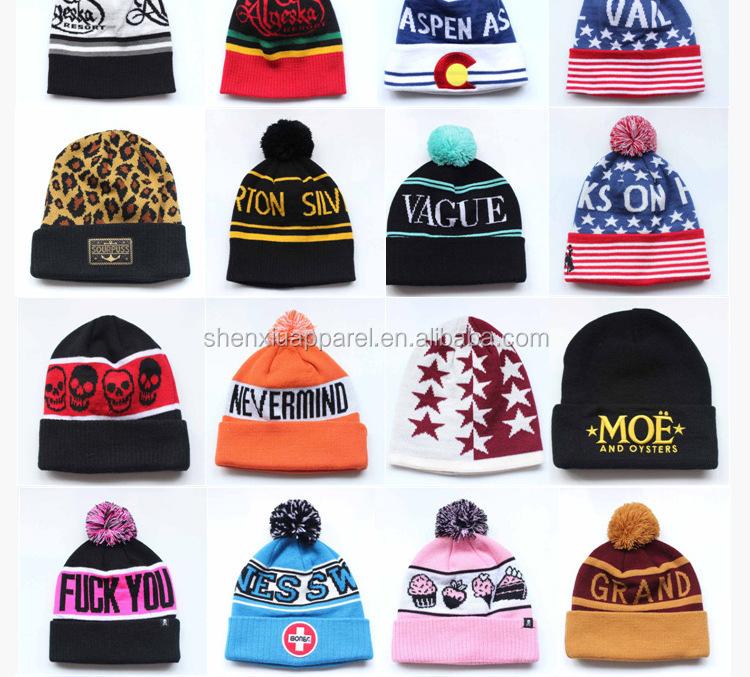 78c31883c5212 Cheap Custom Womens Women s Polyester Winter Toque Beanie Hat Pattern