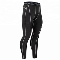 Amazon Hot gym wear leggings men's compression pants, compression leggings, mens tights