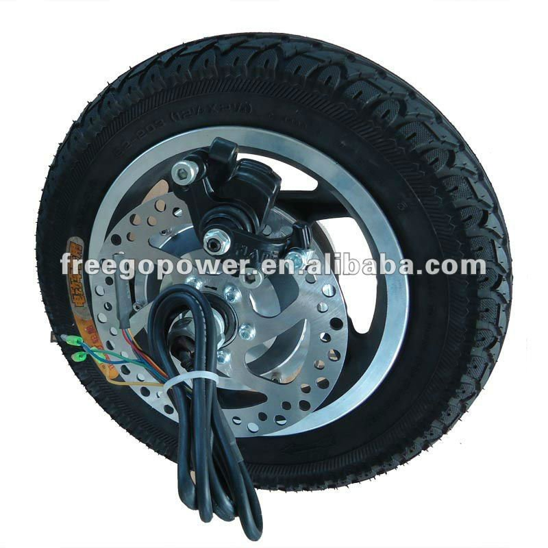 12 Inch Electric Wheel Hub Motor Bicycle