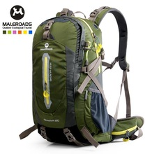 Free shipping Outdoor sport bag travel backpack climbing backpack schoolbag climb knapsack hiking backpack camping packsack 40L
