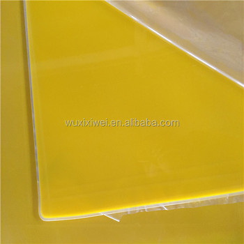 Cheap Price Hard Clear Colored Plastic Sheet Cast Acrylic Sheet Two