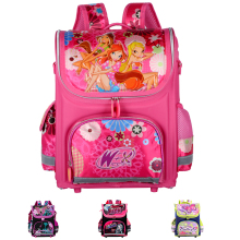 Orthopedic Children School Bags For Girls New 2016 Kids Backpack Monster High WINX Book Bag Princess Schoolbags Mochila Escolar