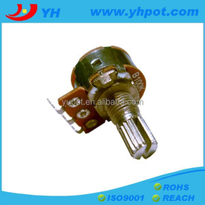16mm linear potentiometer b203 rotary volume control switch