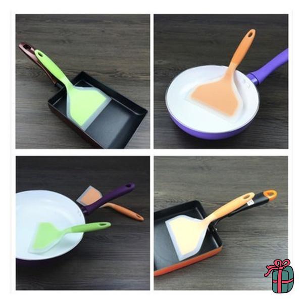Silicone Spatula,Kitchen Gadgets,Food Silicone Rubber Kitchen ...