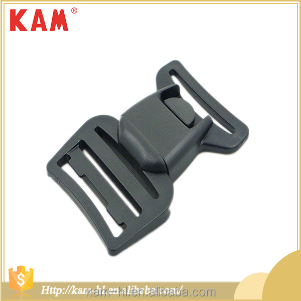 High quality adjustable POM plastic side release back pack buckles