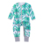 Wholesale cotton baby knitted girl clothes romper suit with zip