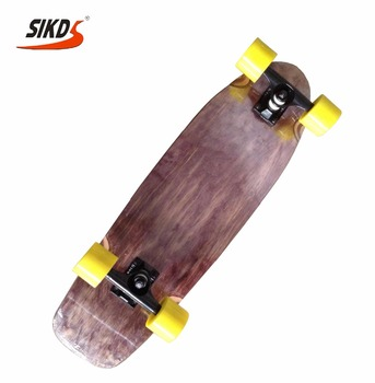 Wholesale maple skateboard cruiser skateboard deck dye color