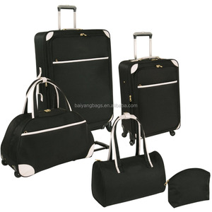 800D POLYESTER 5 PIECE DUFFEL BAG LUGGAGE SET